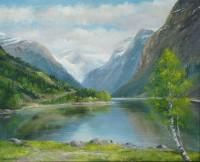 Mountain Lake by Dan B. Conrad